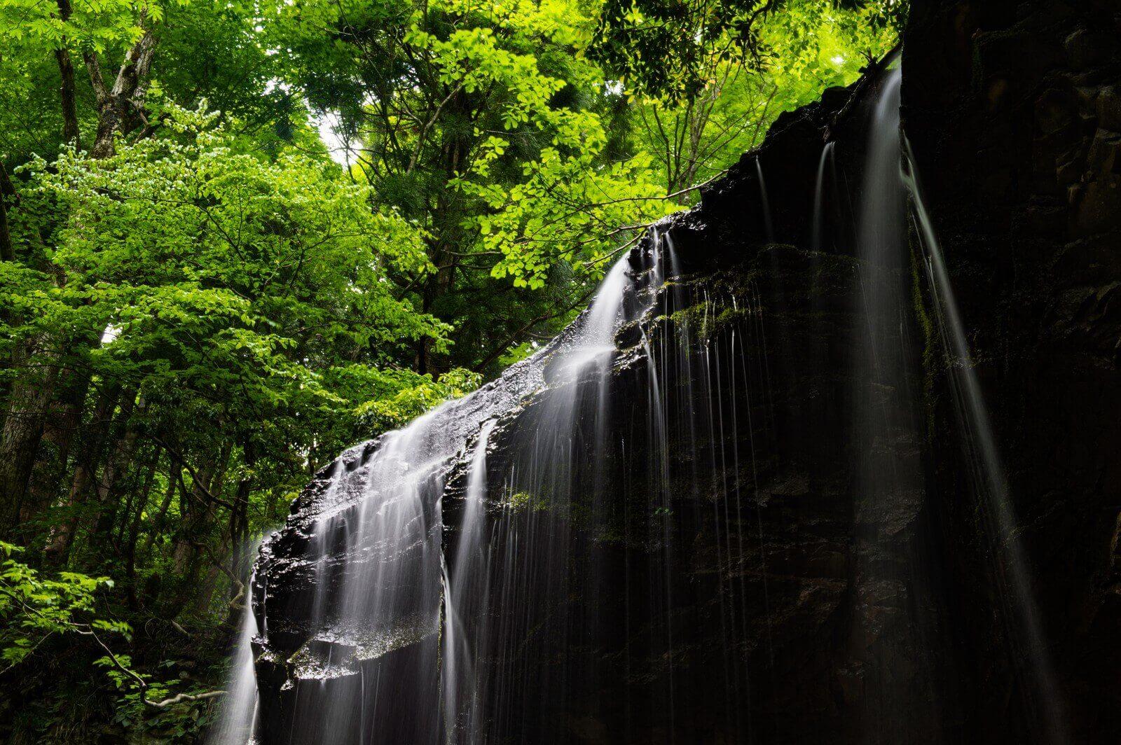 岡山の癒される滝